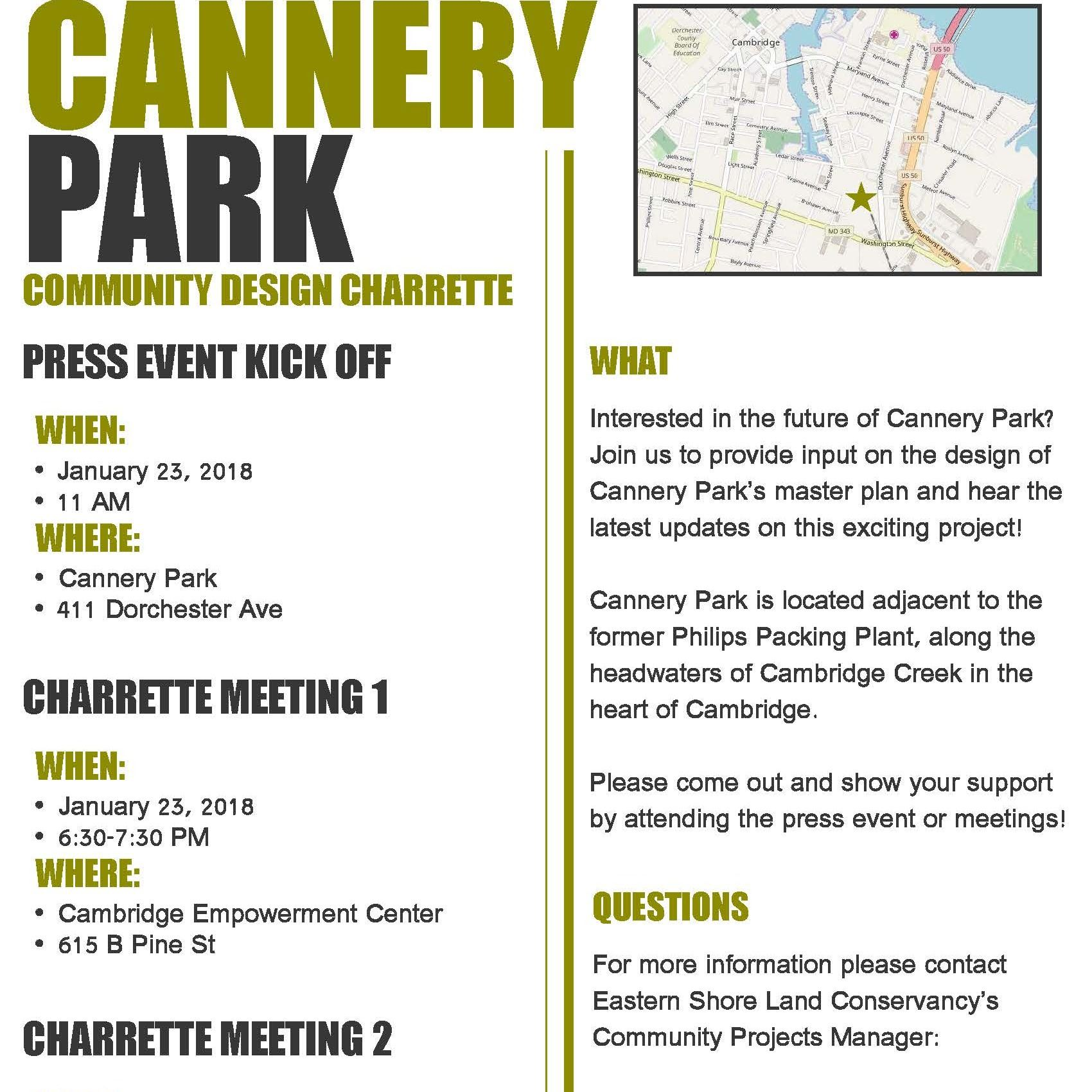 cannery park flyer